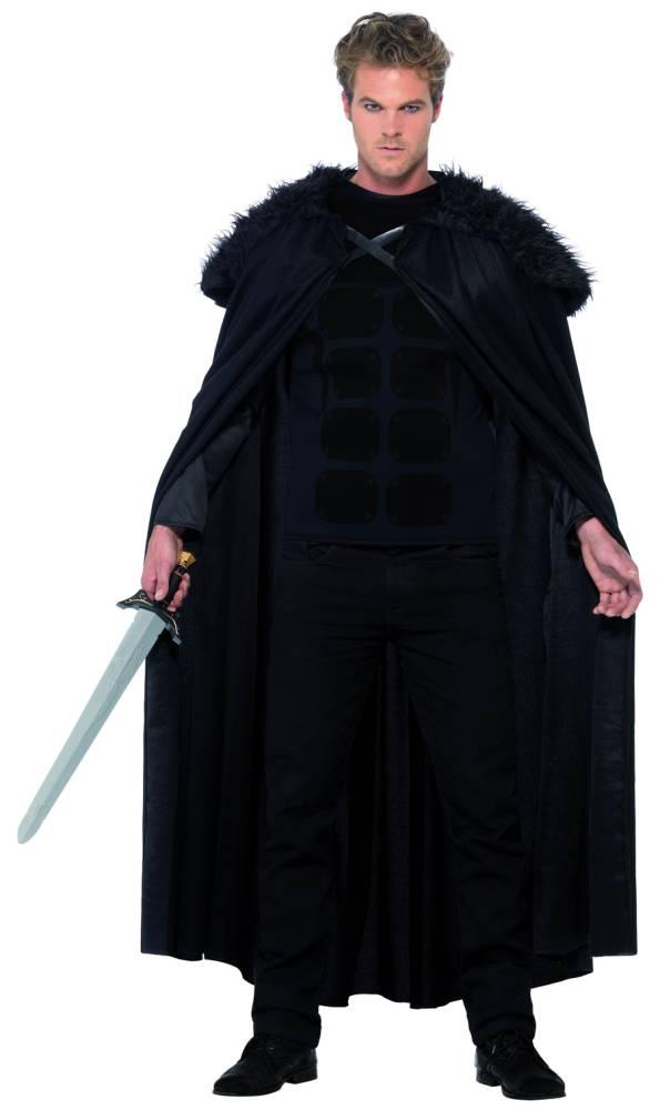 Dark Barbarian Kappe og Topp Deluxe