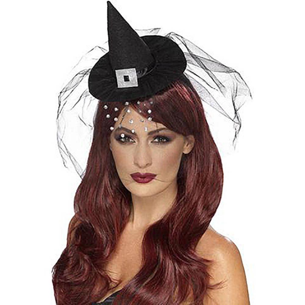 Gotic Minihatt Heksehatt