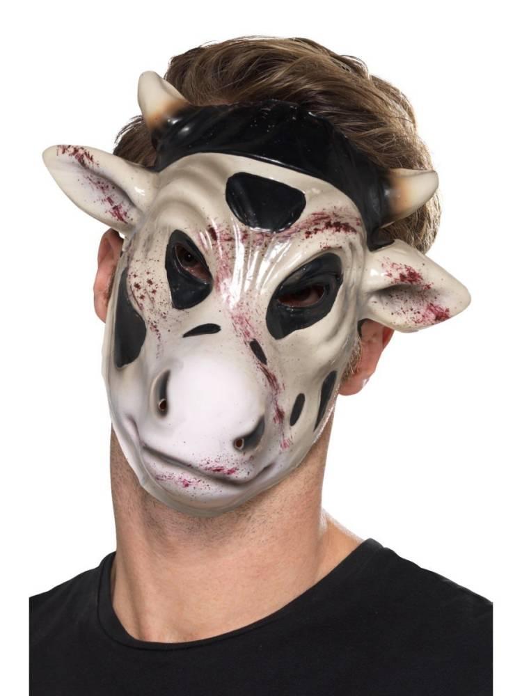 Blodig Ku Maske PVC