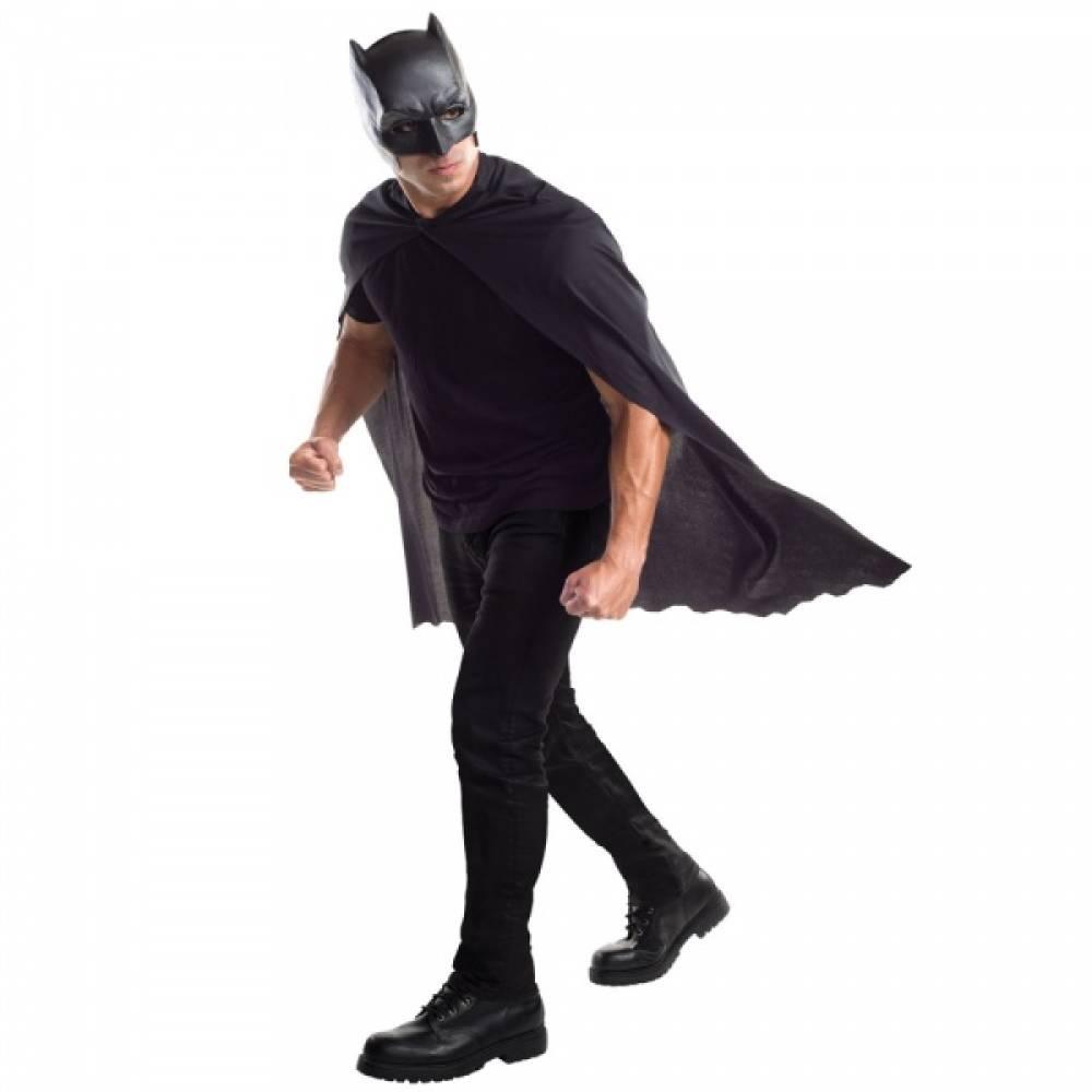 Batman Maske og Kappe til voksen
