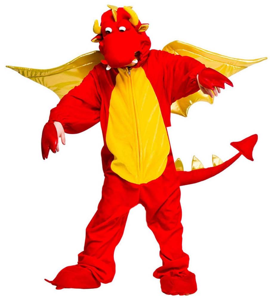 Barnekostyme Fire Breathing Dragon