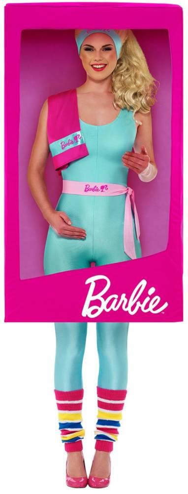 Barbie 3D BOX ROSA MED LOGO
