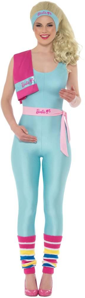 Barbie Kostyme Lysblå