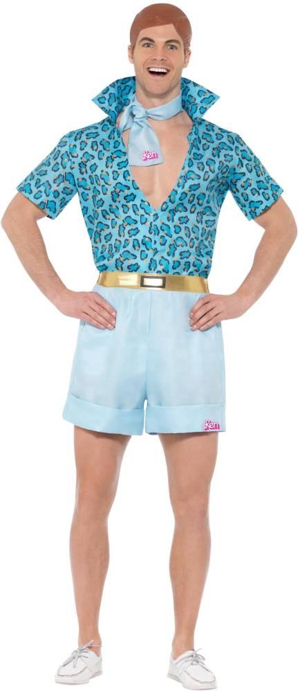 Barbie Safari Ken Kostyme Blue
