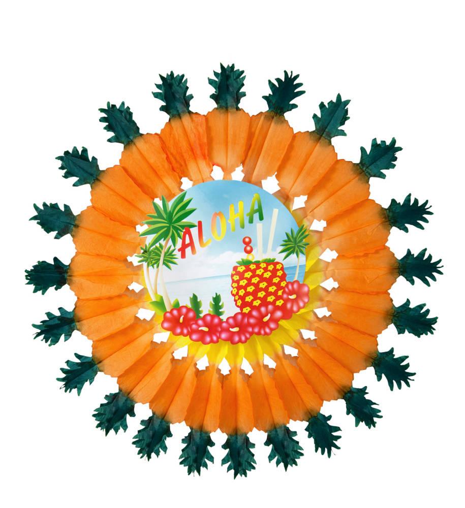 Ananas Aloha Papirvifte