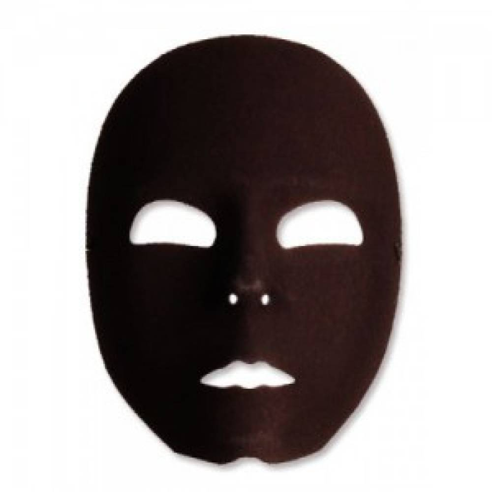 Black Robot Male Maske