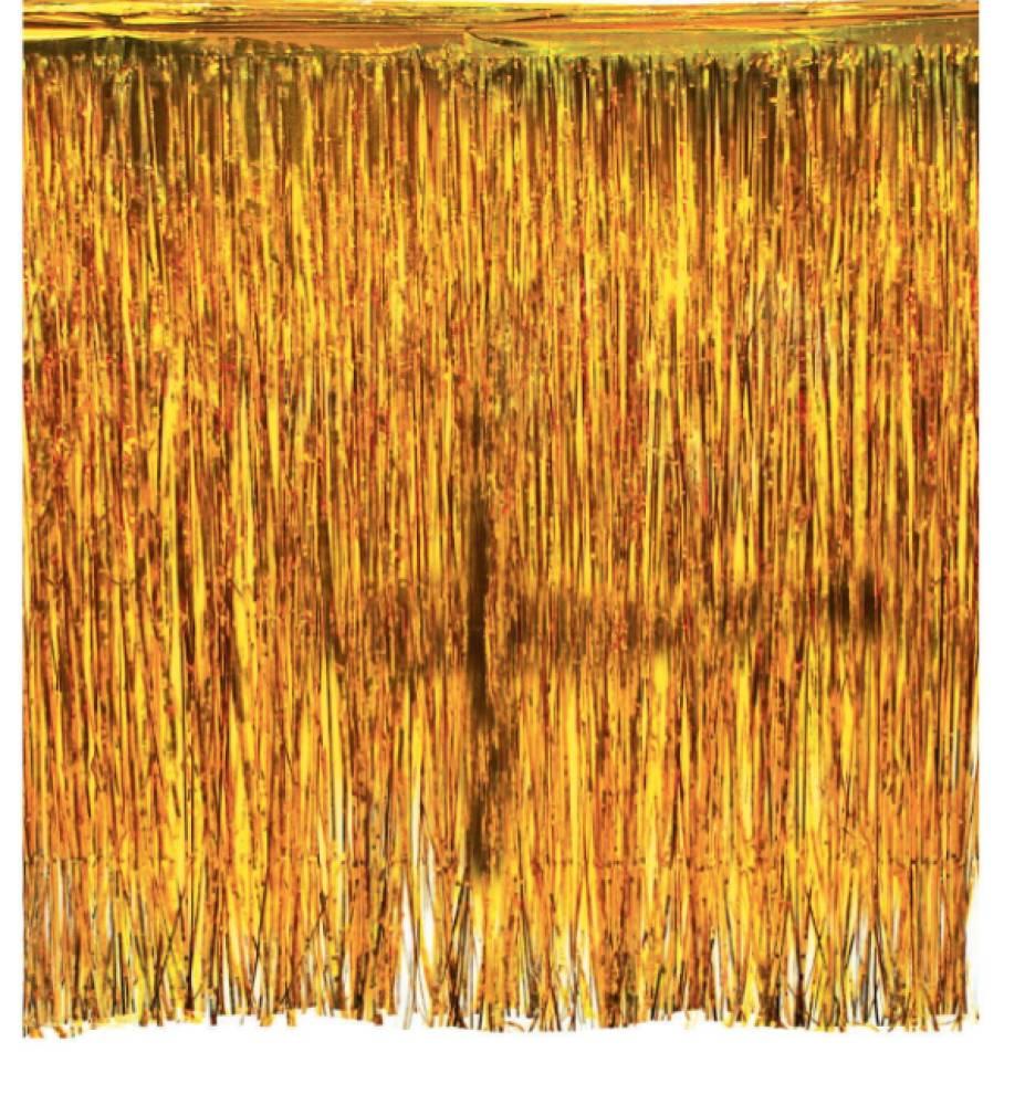 Backdrop Gull draperi til vegg 245*300 cm