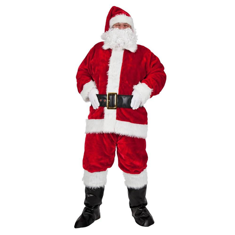 Regal Plush Professional 8pc Santa