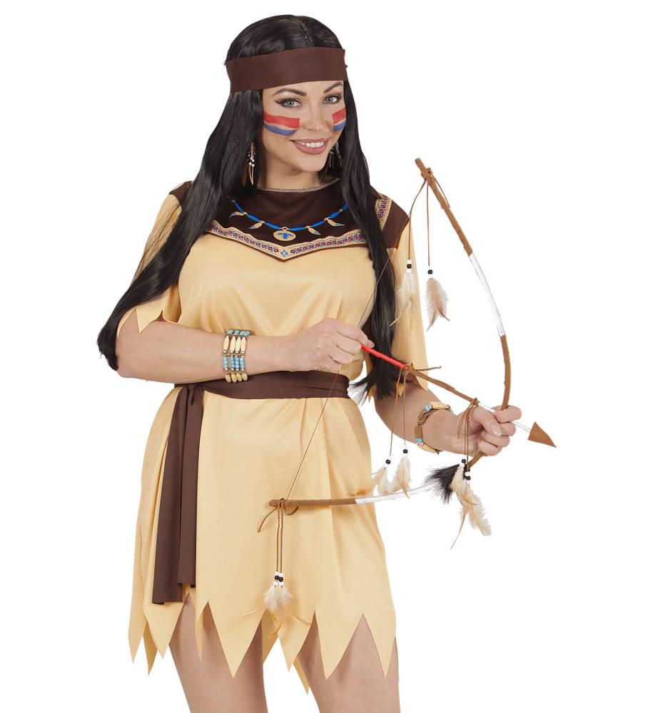 Autentisk Pil og Bue sett til indianer
