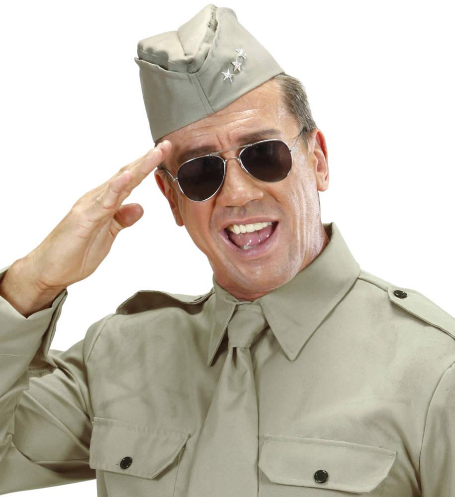 Amerikansk Soldatlue med 3 stjerner WW2