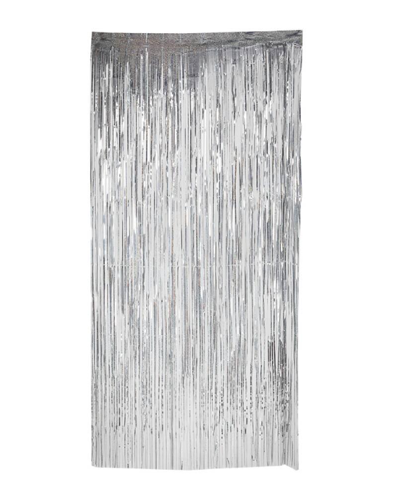 Backdrop Draperi Sølv Dørbredde