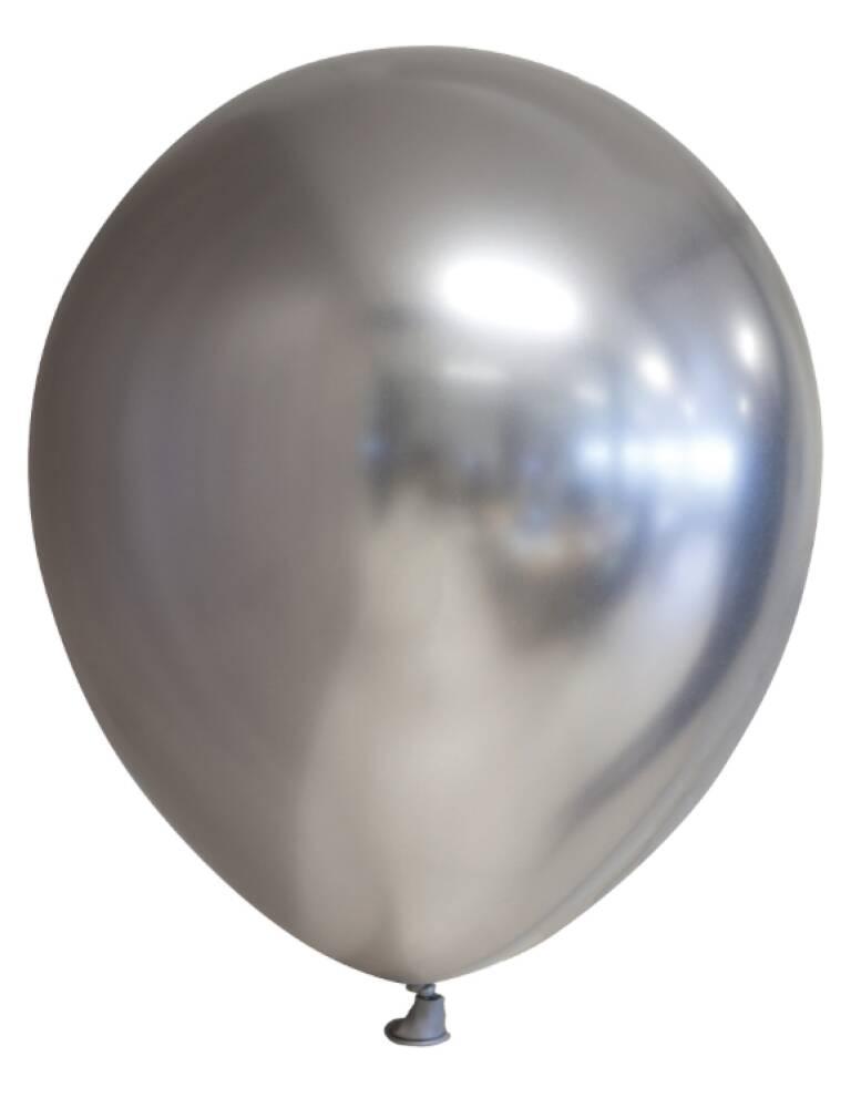 Ballonger Mirror Matt Metallic Silver