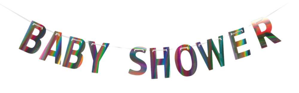 Babyshower Banner Shimmer 2 meter