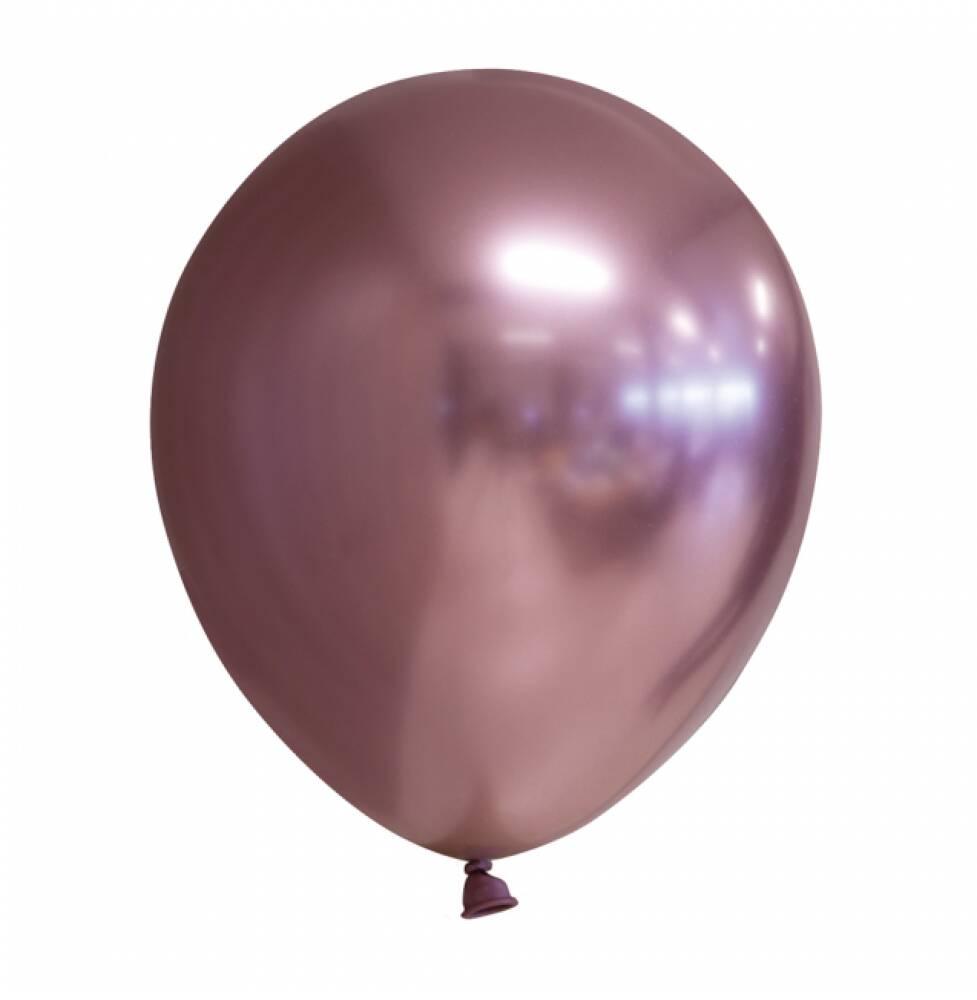 Ballonger Mirror Matt Metallic Rosegull