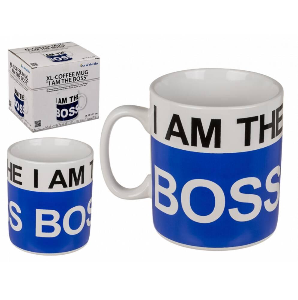 - I am the BOSS - XL-kopp