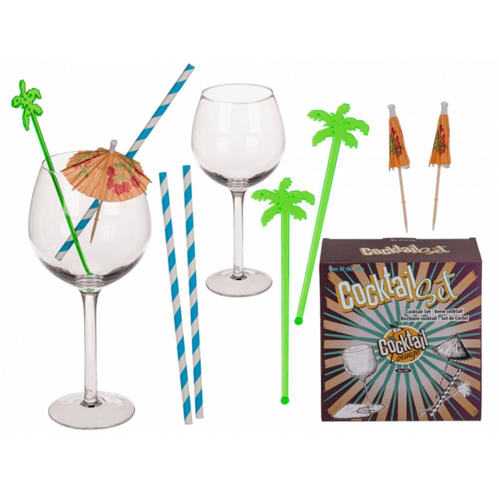 Cocktail Sett - 8 deler -