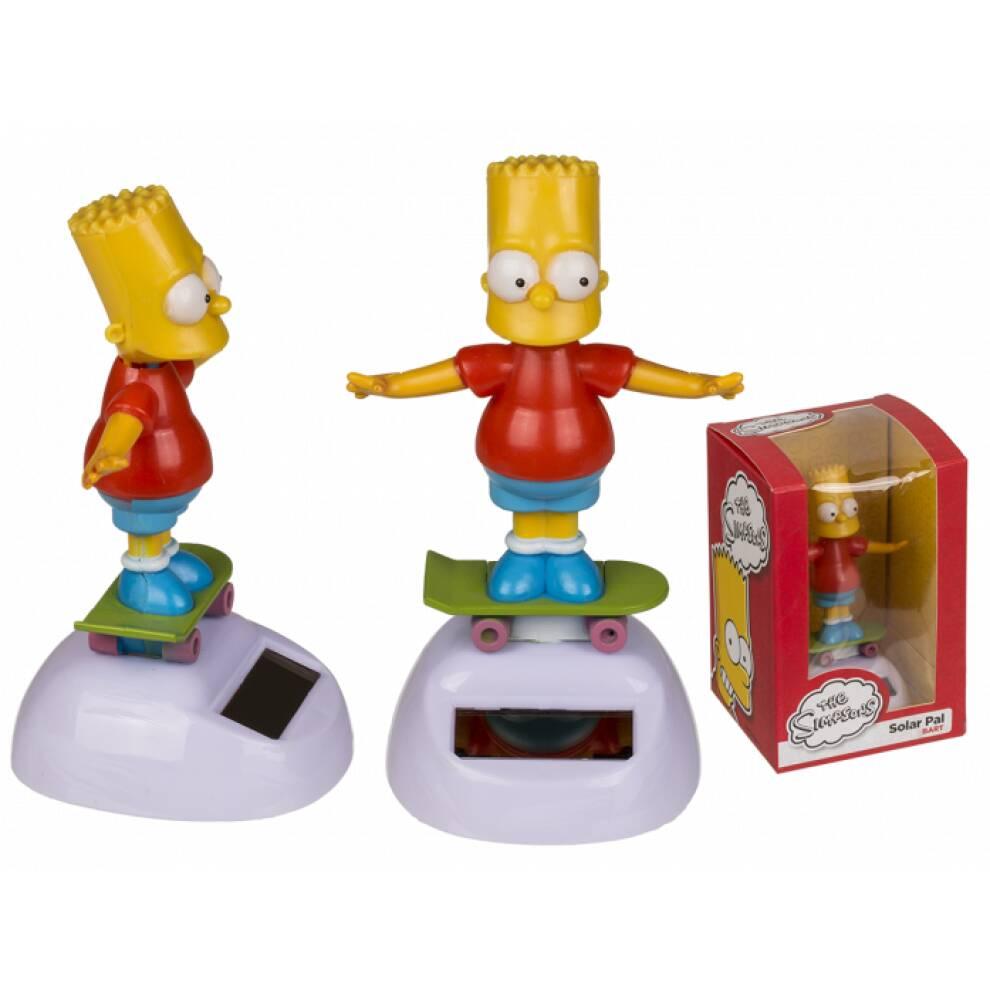 Bart Simpson - Solcelle figur - LISENSIERT