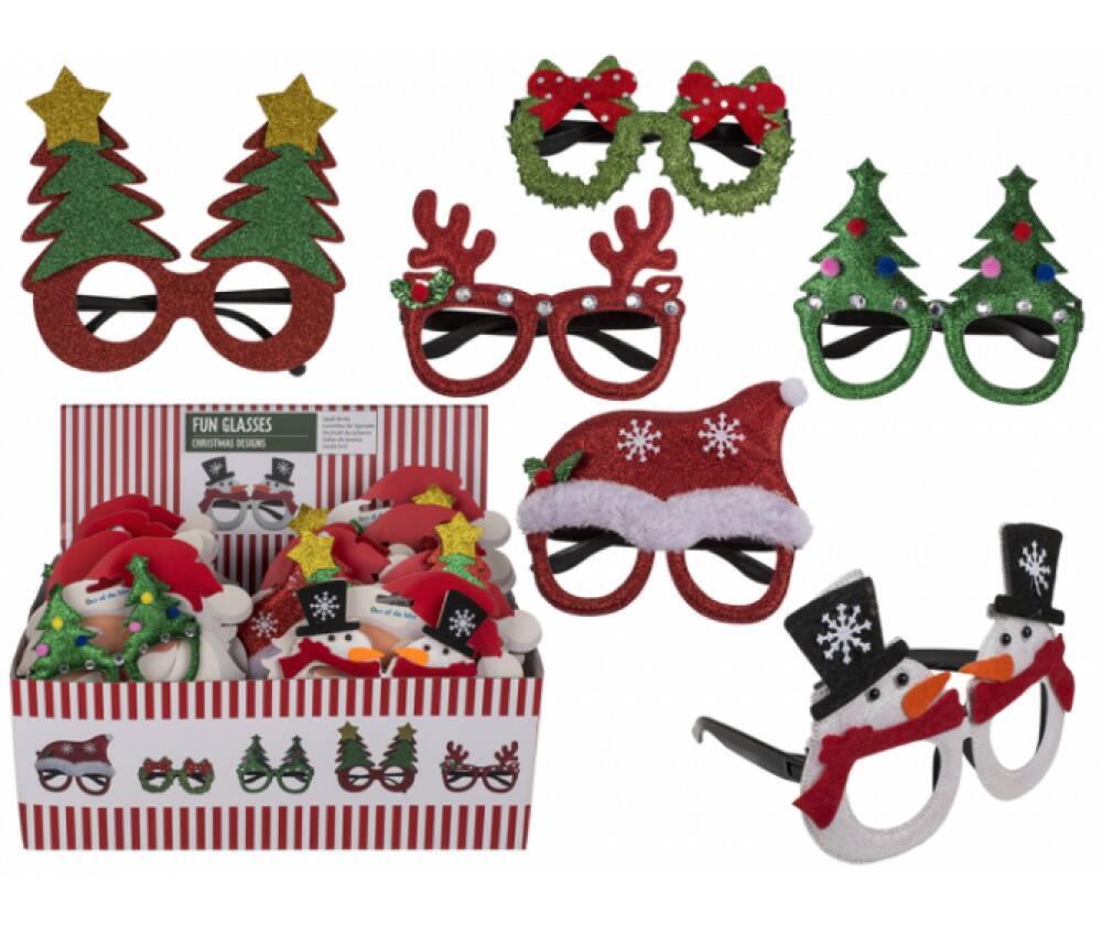 Julebriller assorterte