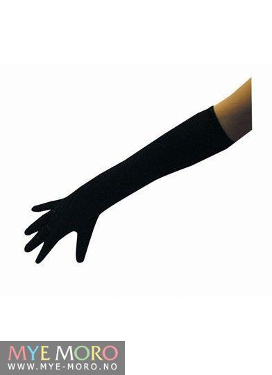 Hansker lange svarte