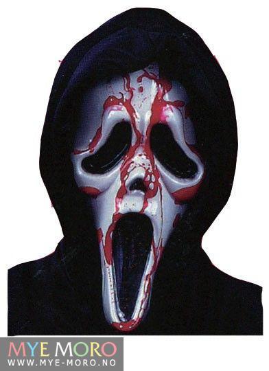 Blodig Scream Maske