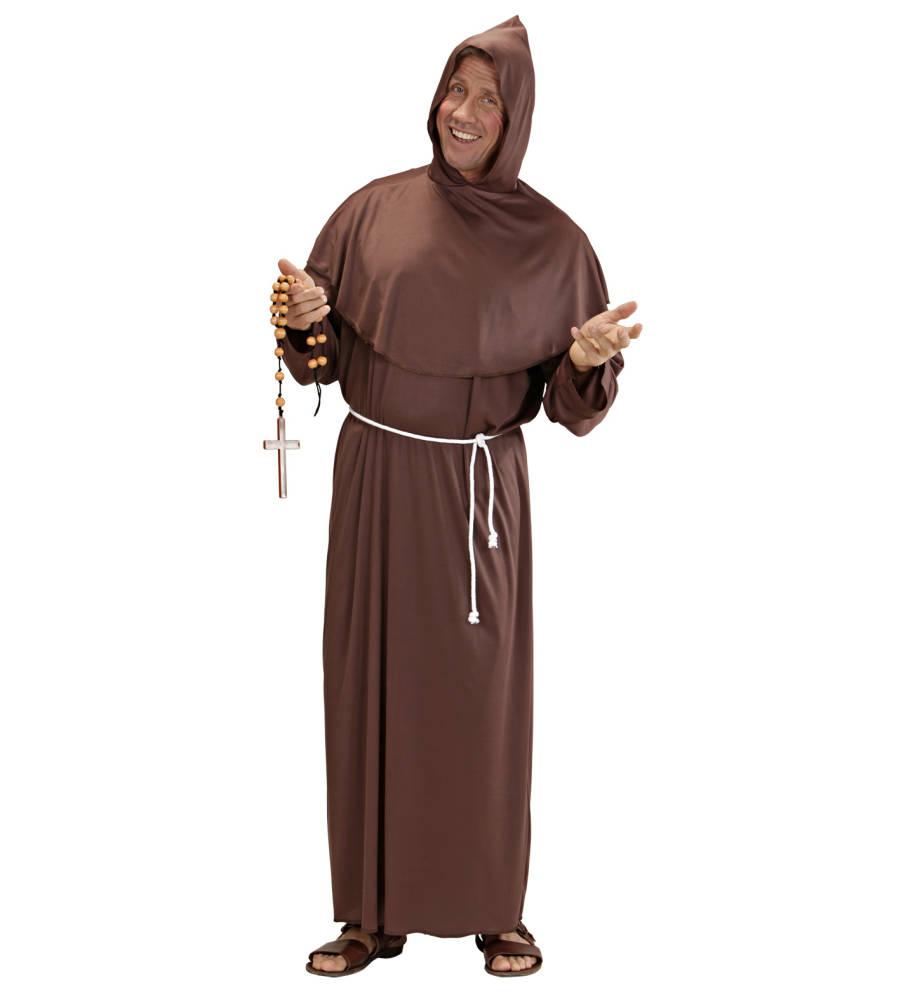 Brun Monk Kostyme