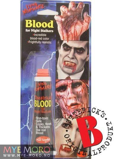 Blod på Tube Teaterblod Bestselger