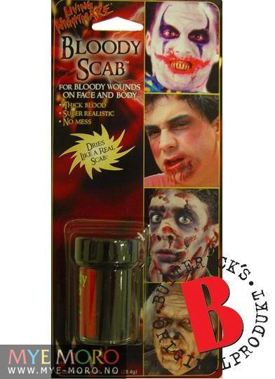 Blod på Glass ekstra tykt Bloody Scab