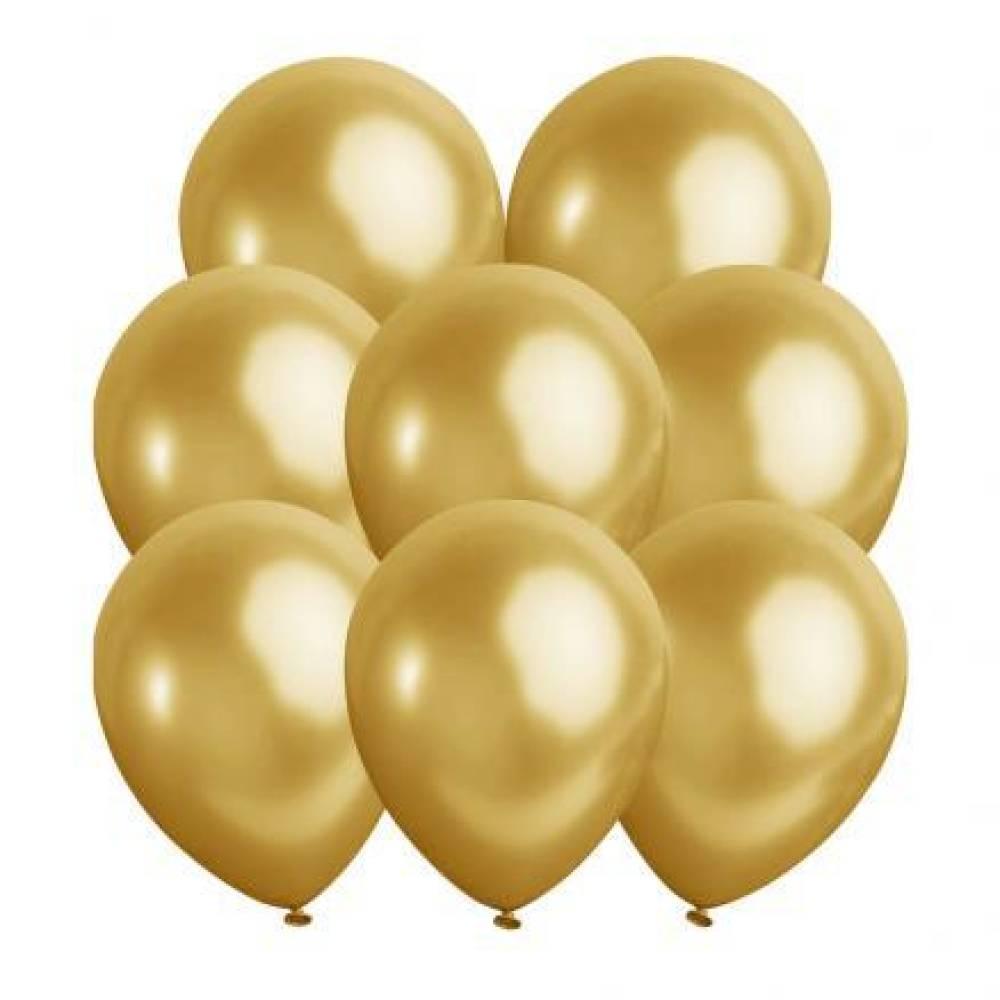 Ballonger Metallic GULL 10 stk