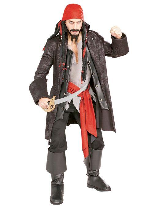 Captain Cuthroath Piratkostyme Deluxe