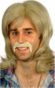70 Talls Blonde Guy Wig Deluxe