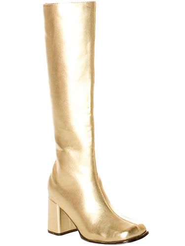 GoGo Boots Gold