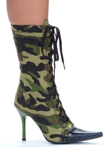 Army Støvletter DeLuxe