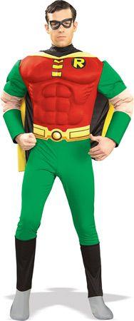 Batman ROBIN DeLuxe kostyme Herre