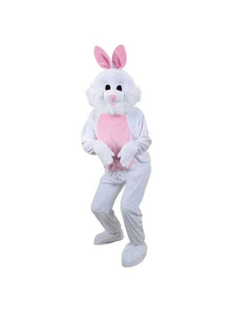 Kanin Hvit Kostyme Maskot