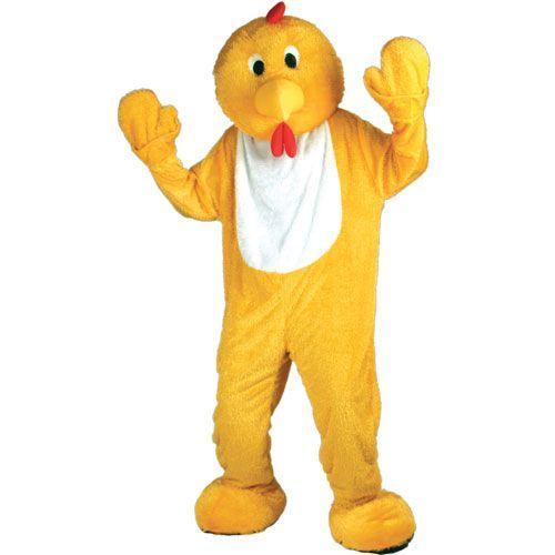 Kylling Kostyme Mascot GIANT Deluxe