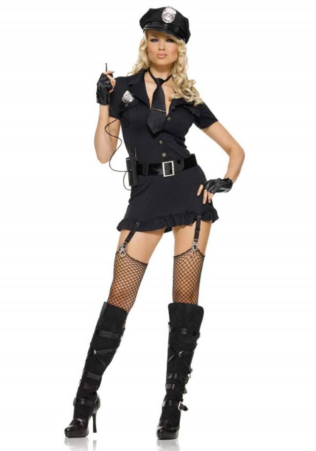 Dirty Cop Leg Avenue Sexy Kostyme