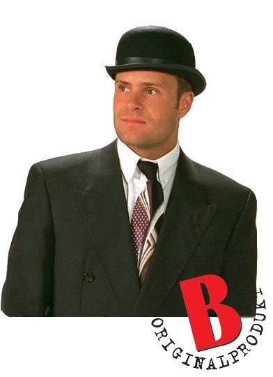 Bowler Svart Deluxe Felt