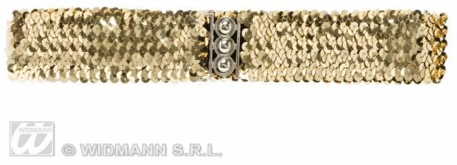 Belte Gull Paljett med strikk