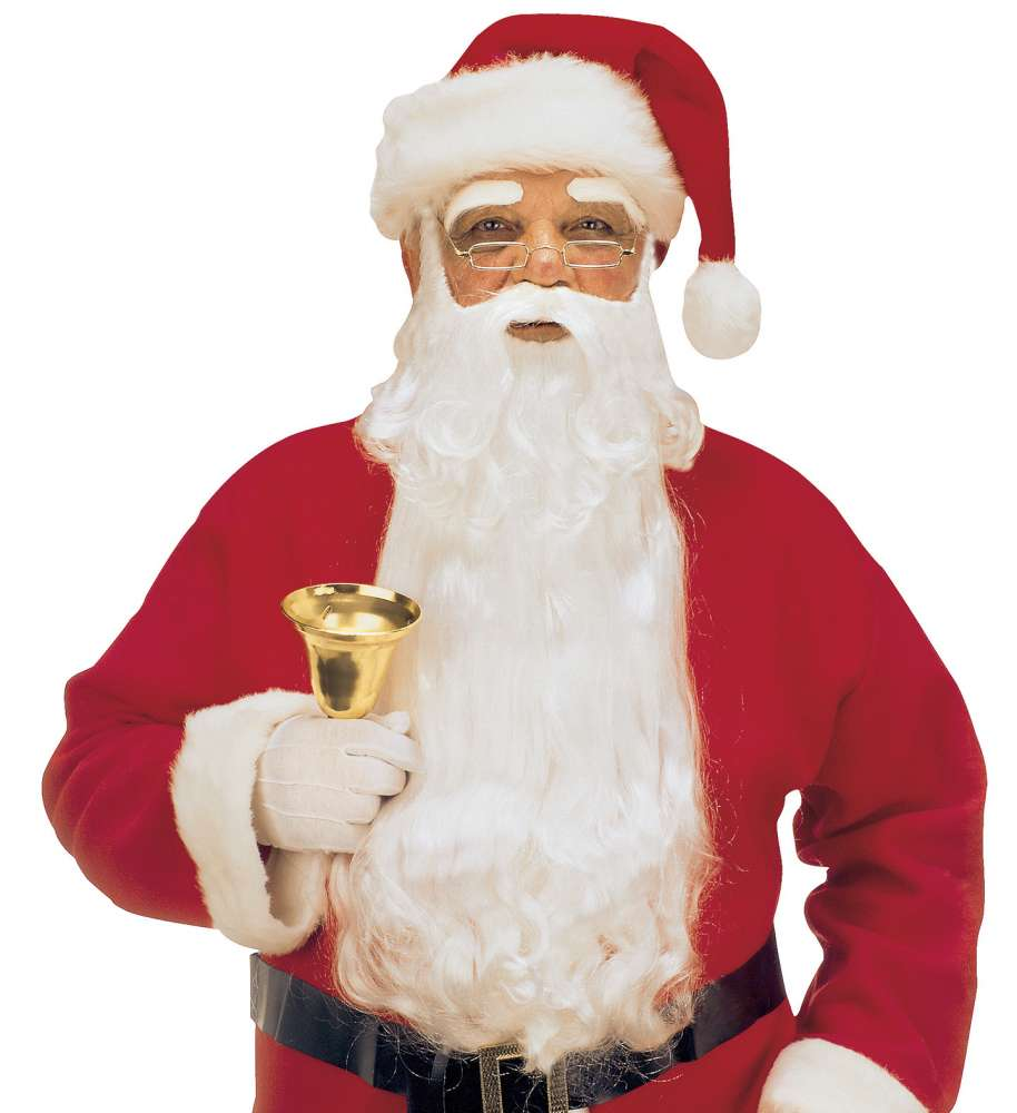 DeLuxe Santa Claus Maxi Skjegg