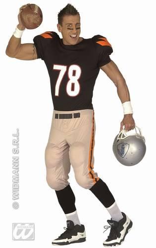 American Footballer Number 78