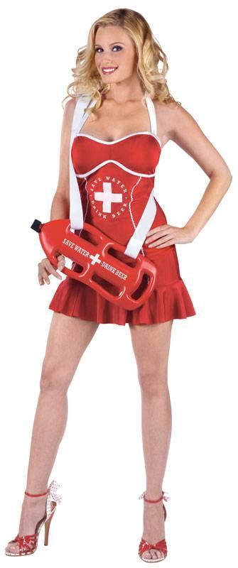 Baywatch Off Duty Lifeguard Dame