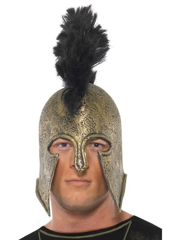Achilles Helmet PVC Svart Deluxe