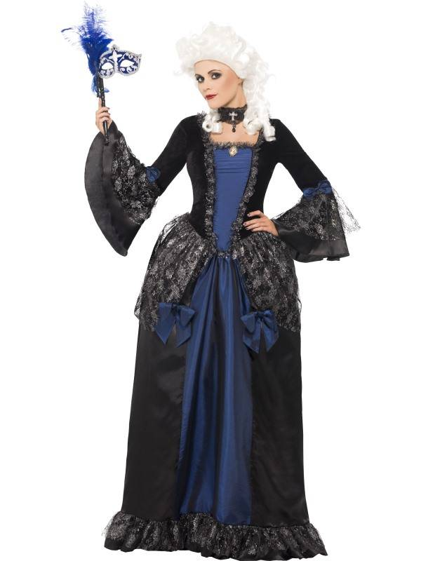 Baroque Beauty Masquerade Kostyme