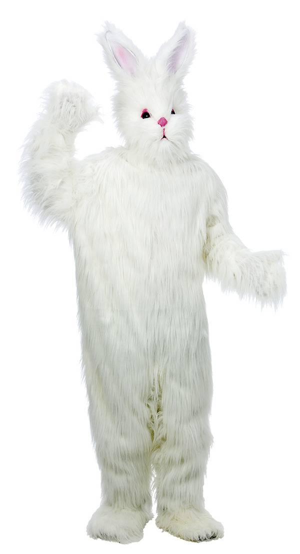 Kanin Påskehare med pels komplett