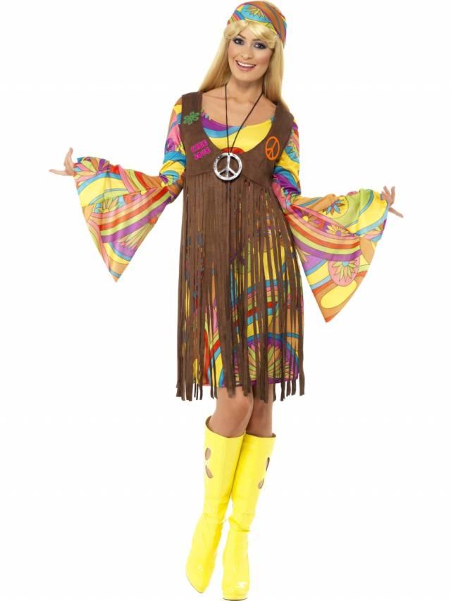 1960`s Groovy Lady Kostyme