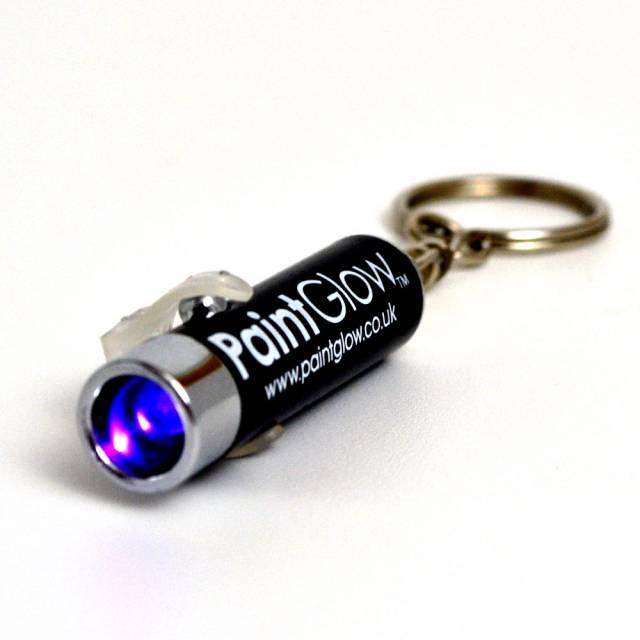 Blacklight UV Lommelykt Nøkkelring