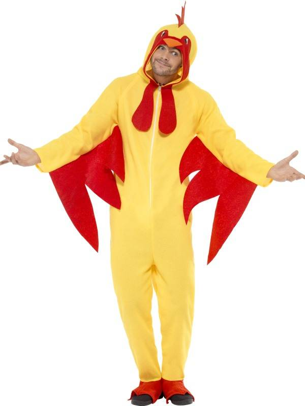 Kylling Kostyme Jumpsuit & Hood