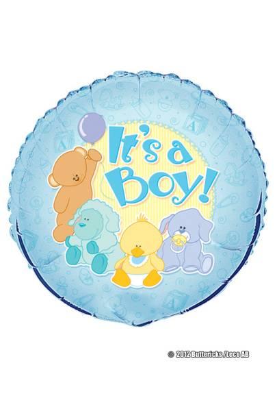 Folieballong It`s a boy!