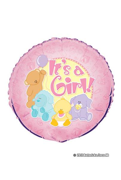 Folieballong It´s a girl!