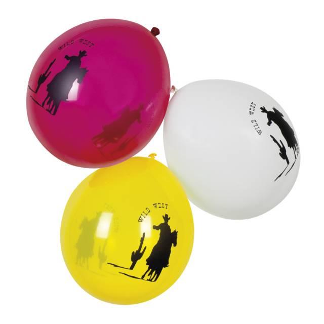 Ballonger ass farge Cowboymotiv